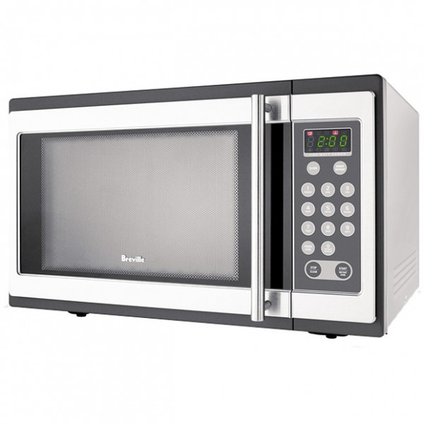 Breville 34L 1100W Stainless Steel Microwave