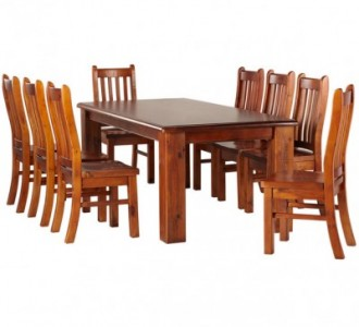 Remarkable Madang 9 Piece Dining Suite Squirreltailoven Fun Painted Chair Ideas Images Squirreltailovenorg
